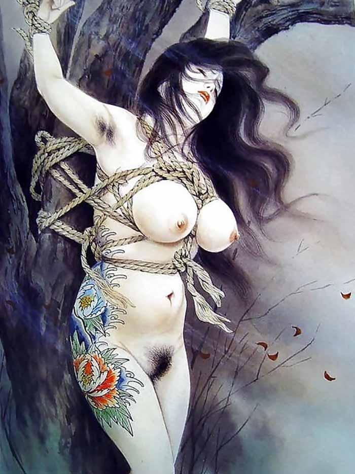 "Канаме, Озума Йоко (Kaname, Ozuma Yoko, Jito) ""Шибари, Сибари арт – 72   Shibari art - 72"""