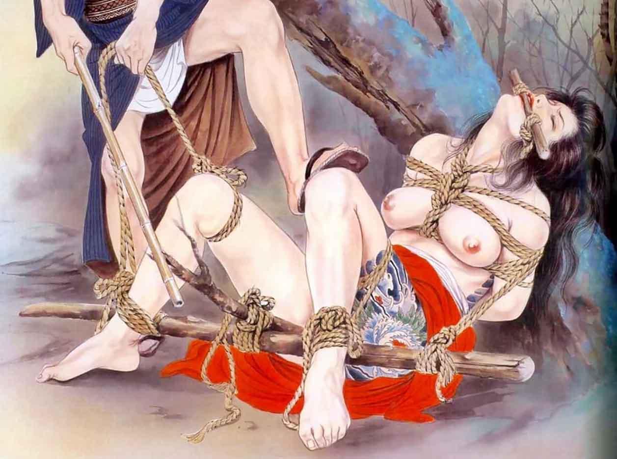 "Канаме, Озума Йоко (Kaname, Ozuma Yoko, Jito) ""Шибари, Сибари арт – 73   Shibari art - 73"""