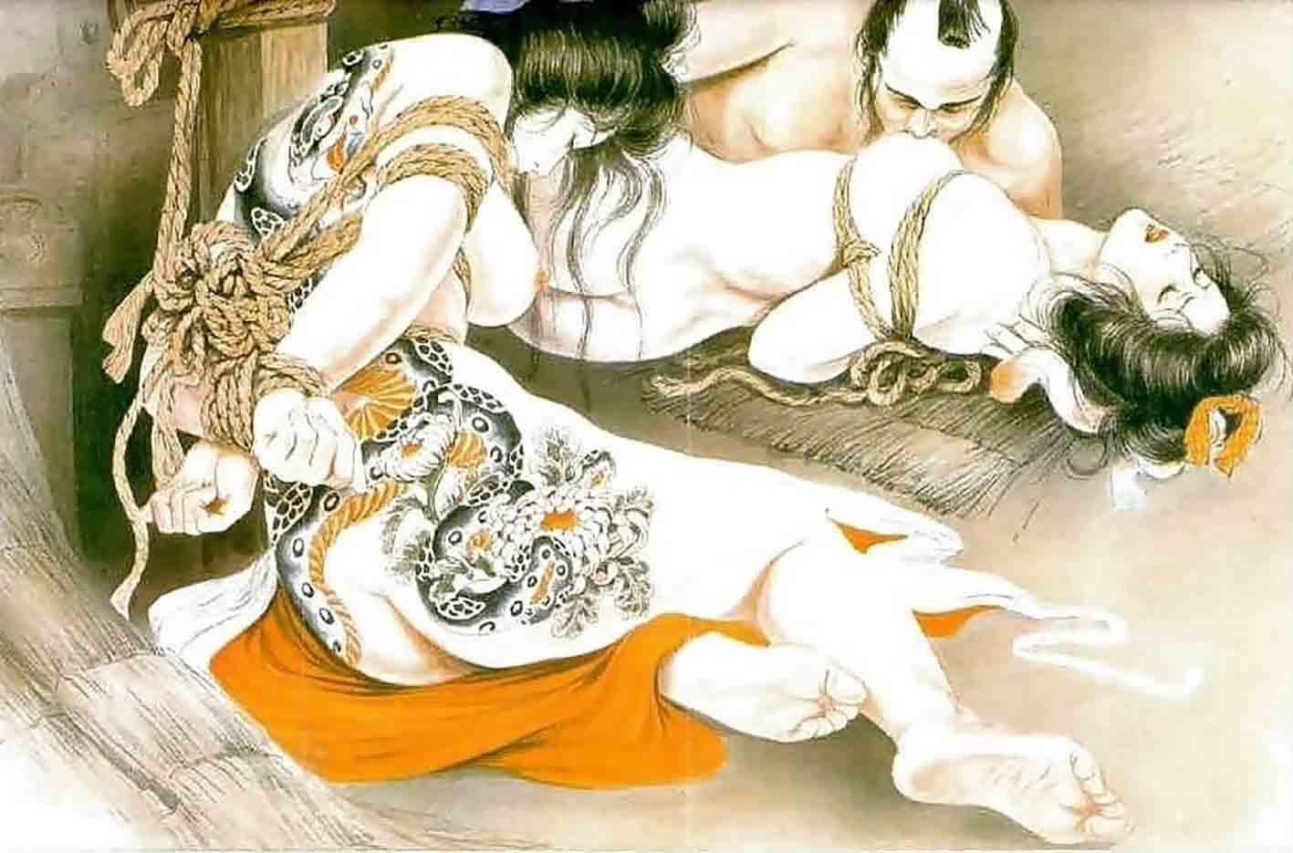 "Канаме, Озума Йоко (Kaname, Ozuma Yoko, Jito) ""Шибари, Сибари арт – 75   Shibari art - 75"""