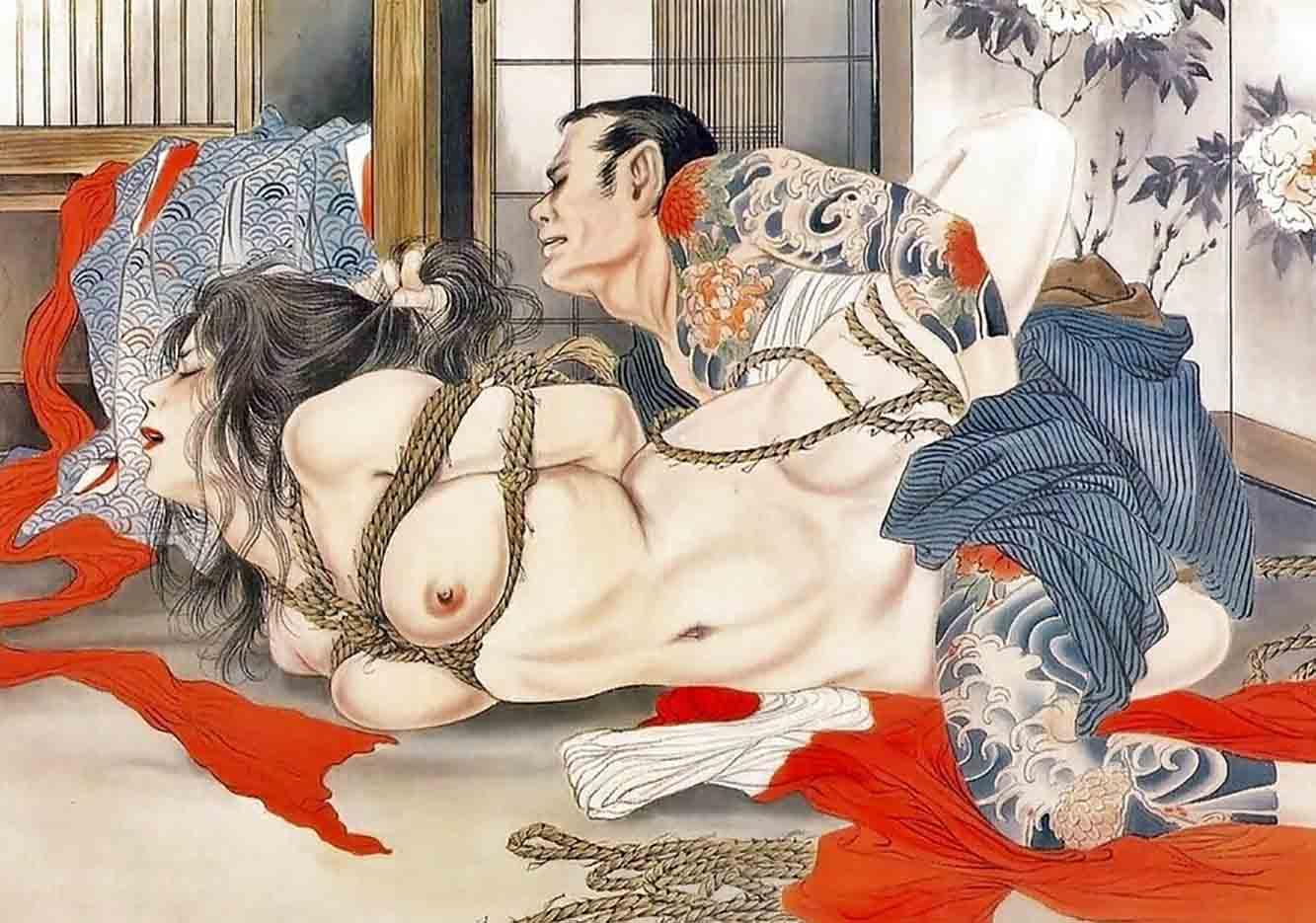 "Канаме, Озума Йоко (Kaname, Ozuma Yoko, Jito) ""Шибари, Сибари арт – 76   Shibari art - 76"""