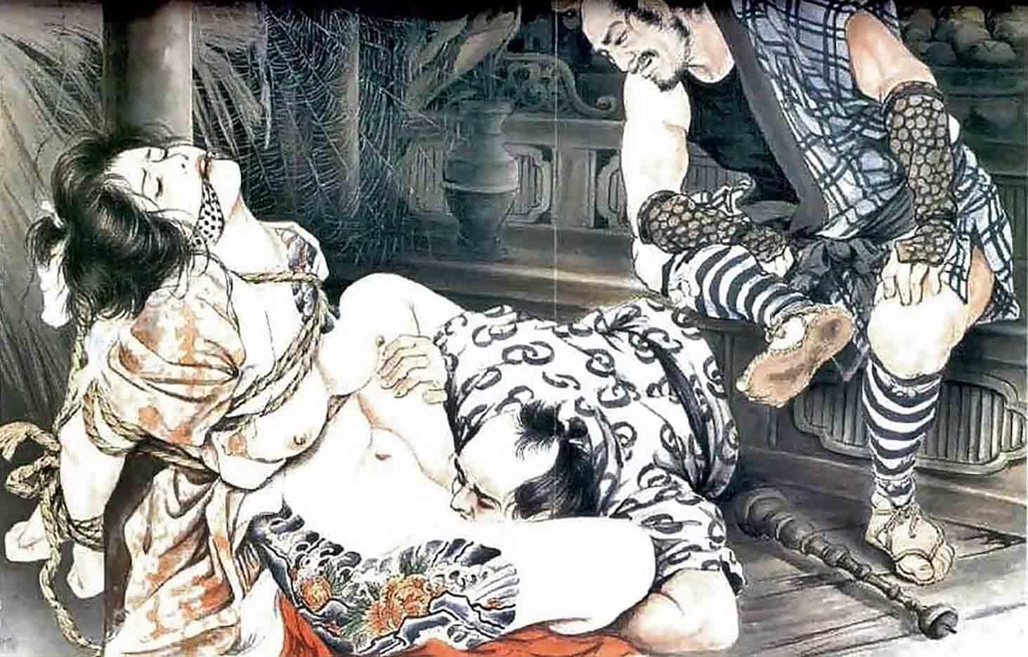 "Канаме, Озума Йоко (Kaname, Ozuma Yoko, Jito) ""Шибари, Сибари арт – 77   Shibari art - 77"""