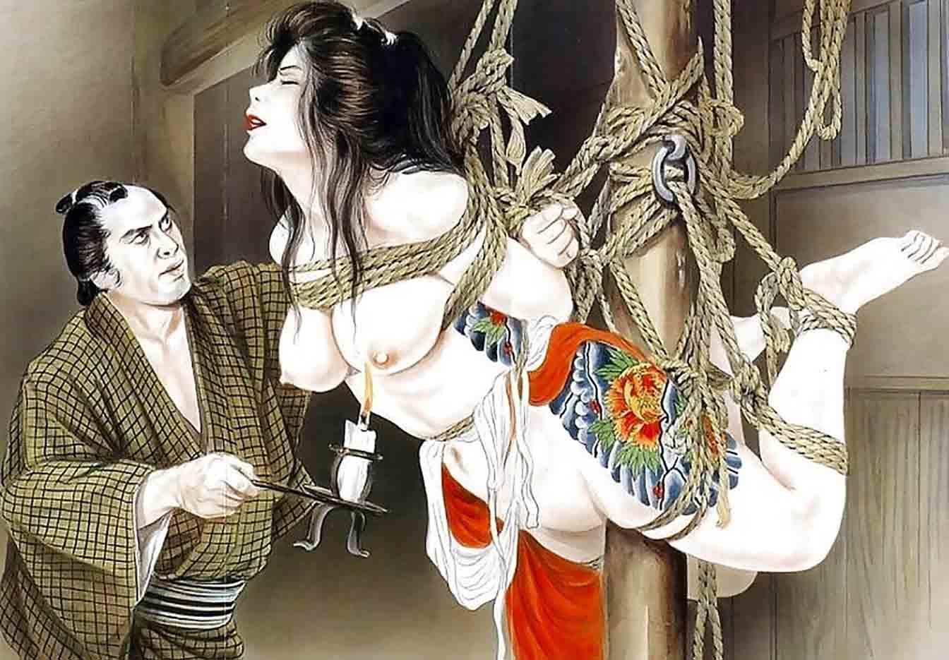 "Канаме, Озума Йоко (Kaname, Ozuma Yoko, Jito) ""Шибари, Сибари арт – 82   Shibari art - 82"""