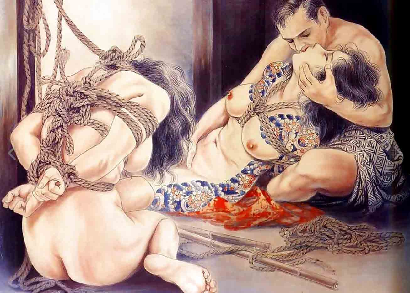 "Канаме, Озума Йоко (Kaname, Ozuma Yoko, Jito) ""Шибари, Сибари арт – 85   Shibari art - 85"""