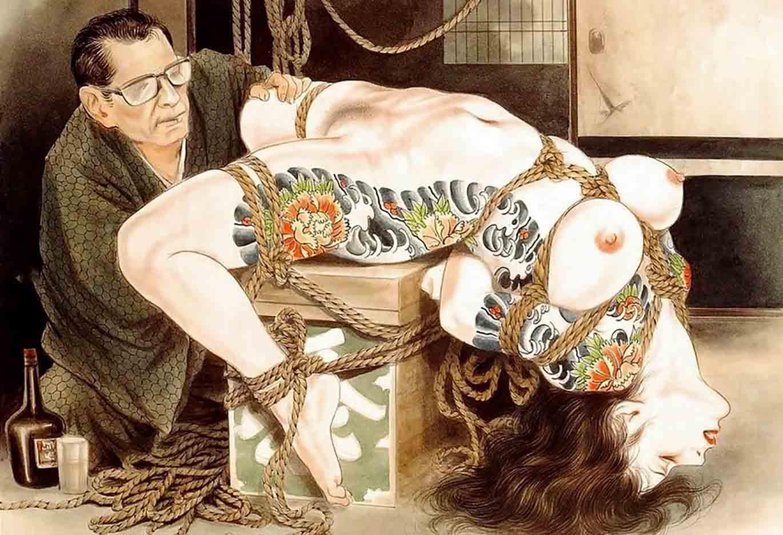 "Канаме, Озума Йоко (Kaname, Ozuma Yoko, Jito) ""Шибари, Сибари арт – 86   Shibari art - 86"""