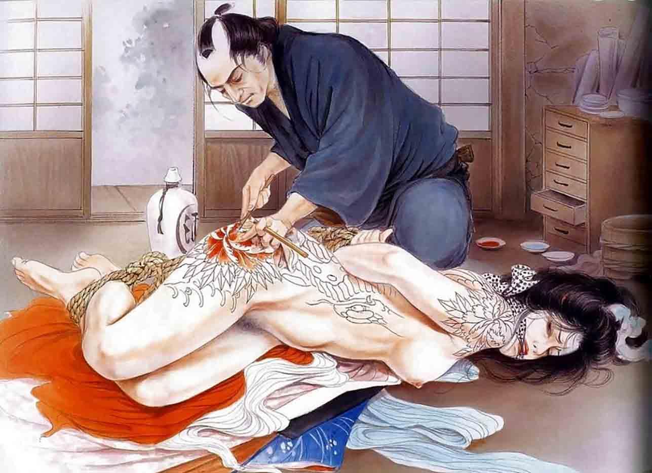 "Канаме, Озума Йоко (Kaname, Ozuma Yoko, Jito) ""Шибари, Сибари арт – 90   Shibari art - 90"""