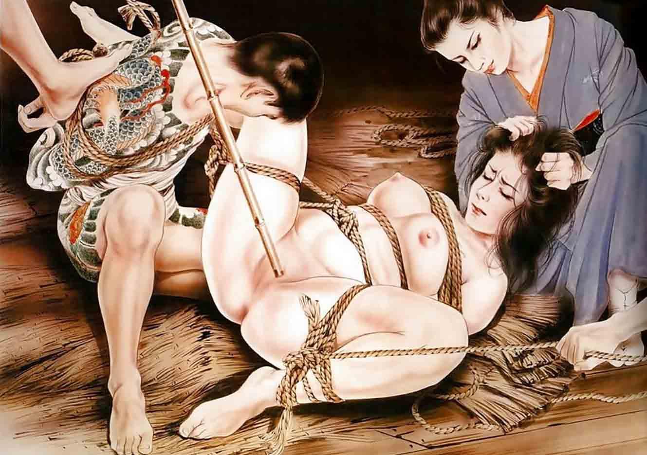 "Канаме, Озума Йоко (Kaname, Ozuma Yoko, Jito) ""Шибари, Сибари арт – 96   Shibari art - 96"""
