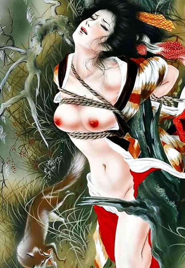 "Канаме, Озума Йоко (Kaname, Ozuma Yoko, Jito) ""Шибари, Сибари арт – 97   Shibari art - 97"""