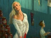 Вальдемар Казак (Waldemar Kazak) digital art, Sticky Sweet Fate