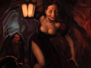 Вальдемар Казак (Waldemar Kazak) digital art, Snow White Number Two