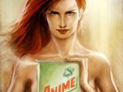Вальдемар Казак (Waldemar Kazak) digital art, Animel Powder