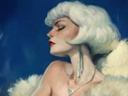 Вальдемар Казак (Waldemar Kazak) digital art, Frau in Fur
