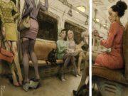 Вальдемар Казак (Waldemar Kazak) digital art, Loneliness