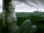 Вальдемар Казак (Waldemar Kazak) digital art, Melancholy