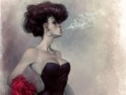 Вальдемар Казак (Waldemar Kazak) digital art, Smoke