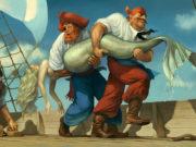 Вальдемар Казак (Waldemar Kazak) digital art, Big Fish