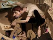 Вальдемар Казак (Waldemar Kazak), Autoportrait