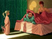 Вальдемар Казак (Waldemar Kazak) digital art, Bed Time
