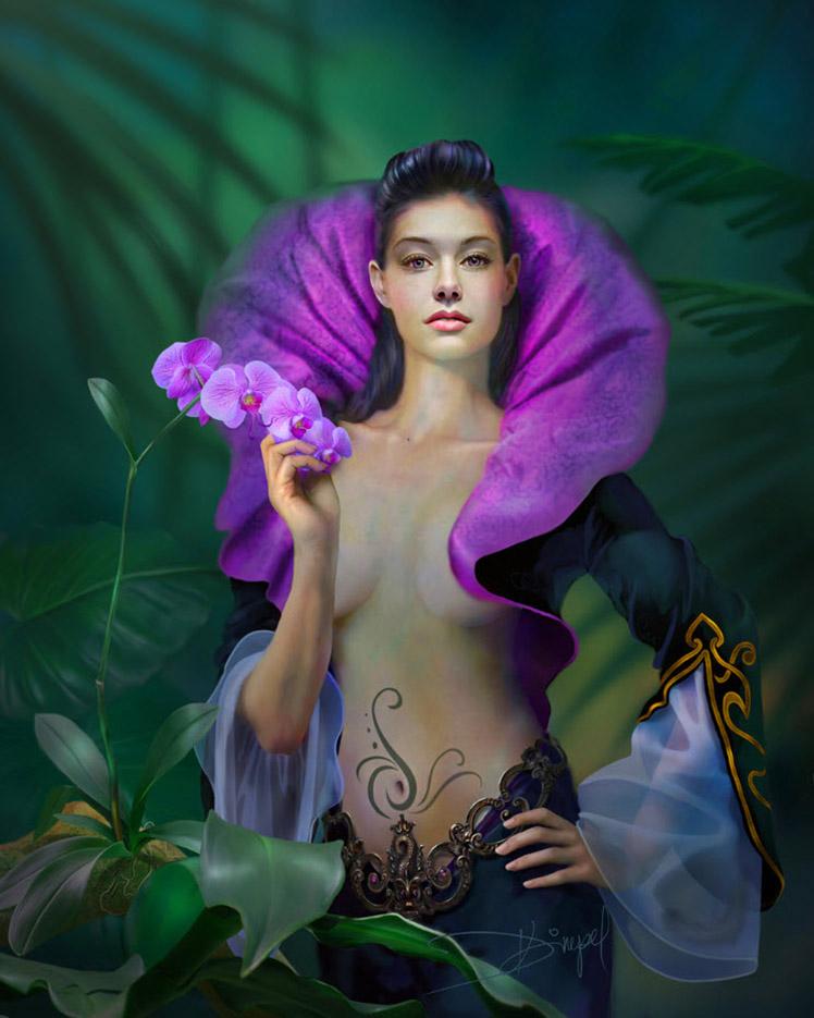 Дразенка Кимпел (Drazenka Kimpel), Purple Orchid