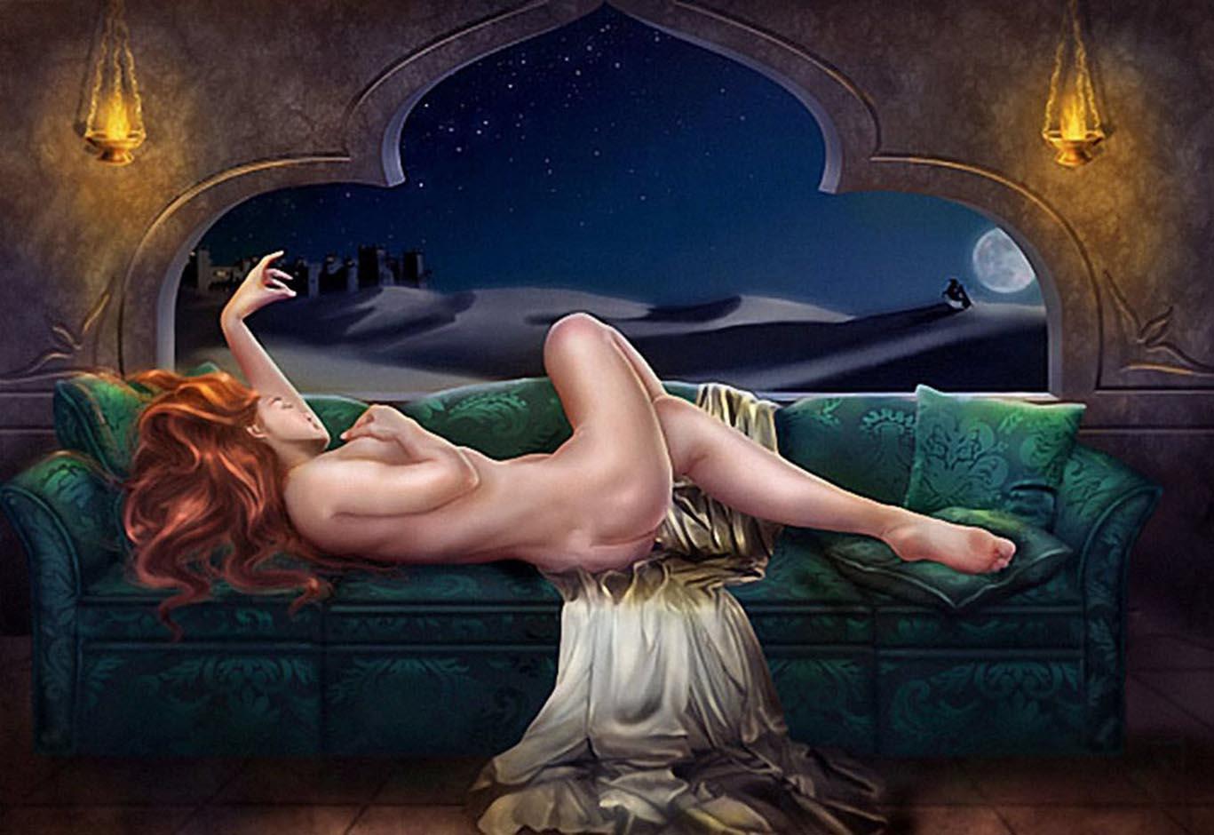 Romantic fantasy nude — img 15