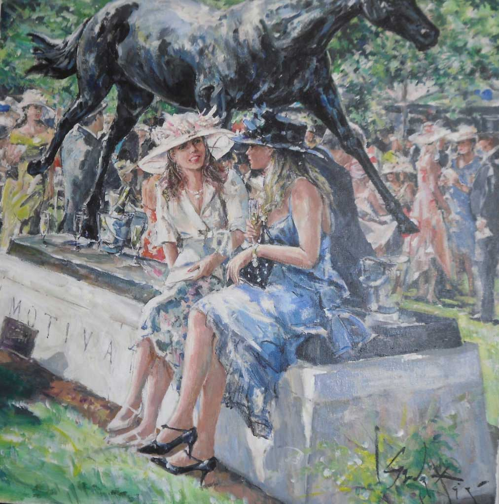 "Гордон Кинг (Gordon King), ""Ascot Girls"""