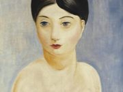 "Моисей Кислинг (Moise Kisling) ""Сидящая обнаженная женщина 