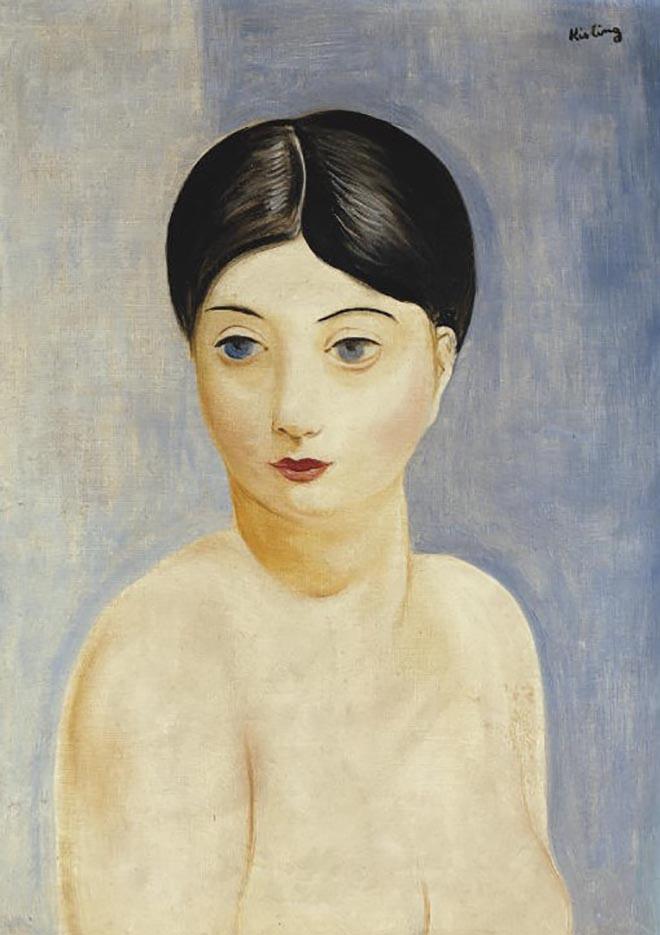 "Моисей Кислинг (Moise Kisling) ""Сидящая обнаженная женщина | Seated nude woman | Femme nue assise"""