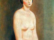 """Моисей Кислинг (Moise Kisling) """"Female Nude"""""""