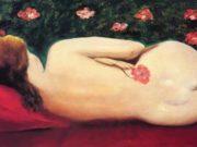 """Моисей Кислинг (Moise Kisling) """"Reclining Female Nude"""""""