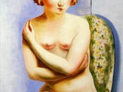 "Моисей Кислинг (Moise Kisling) ""Seated Nude With Crossed Arms"""