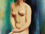 """Моисей Кислинг (Moise Kisling) """"Femme nue assise"""""""