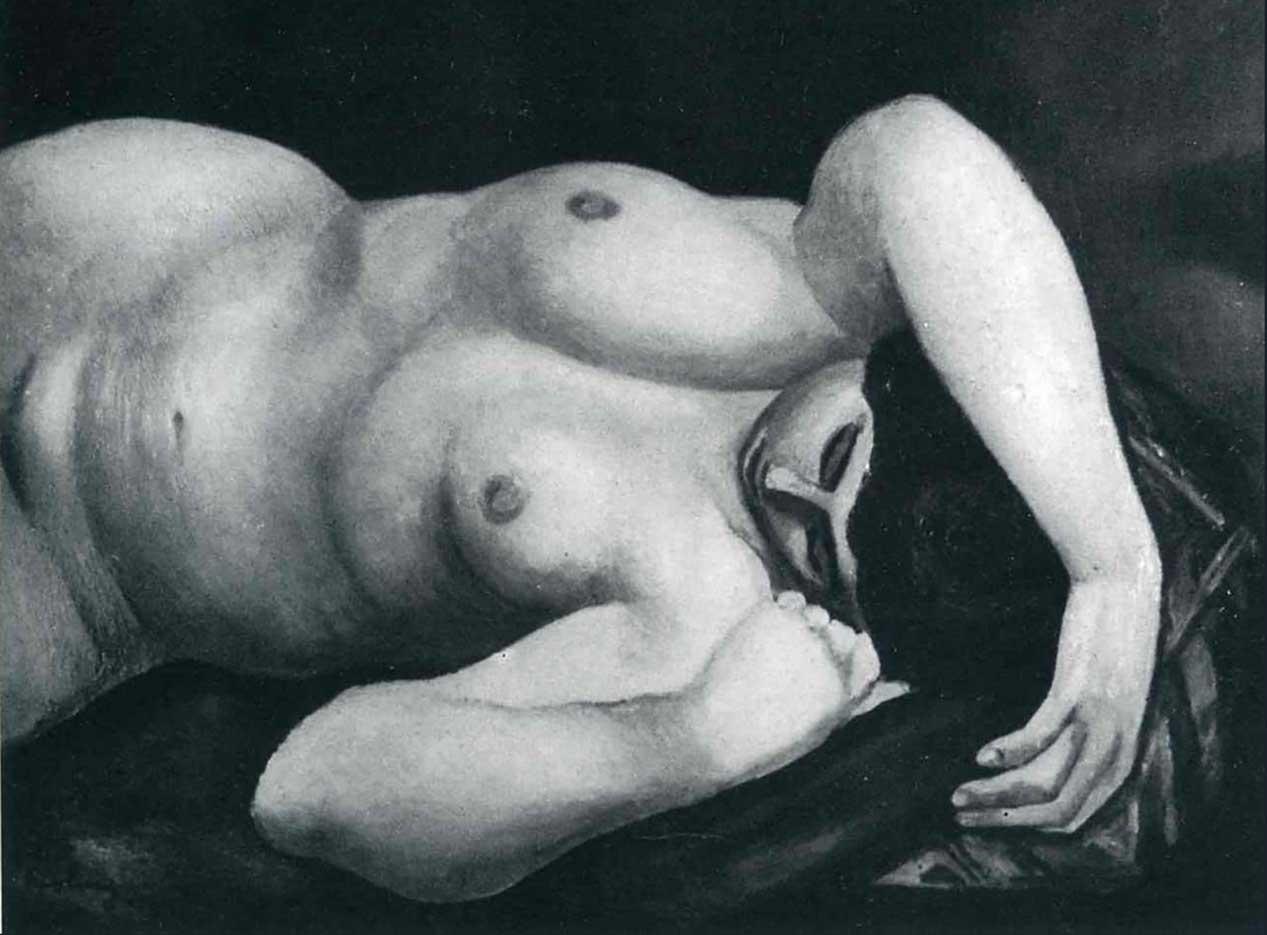 """Моисей Кислинг (Moise Kisling) """"Untitled - 79"""""""