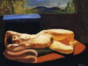 "Моисей Кислинг (Moise Kisling) ""Лежащая обнаженная | Reclining nude"""