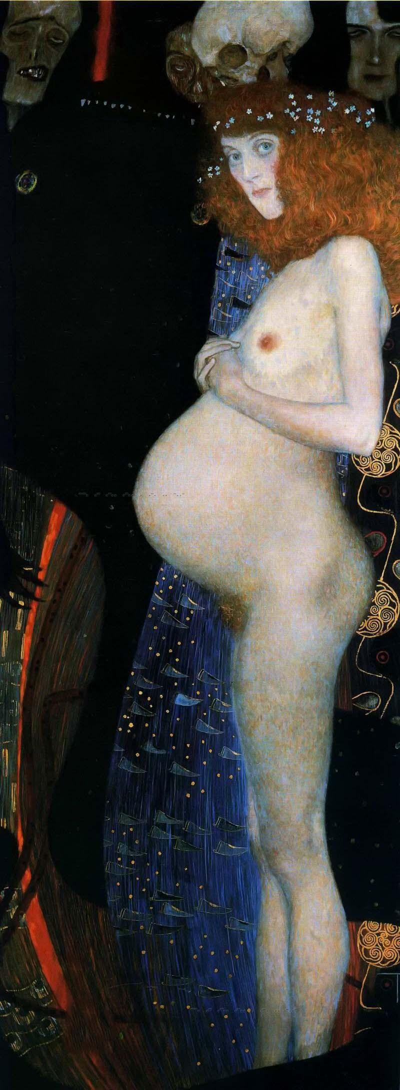 Густав Климт (Gustav Klimt), Надежда I