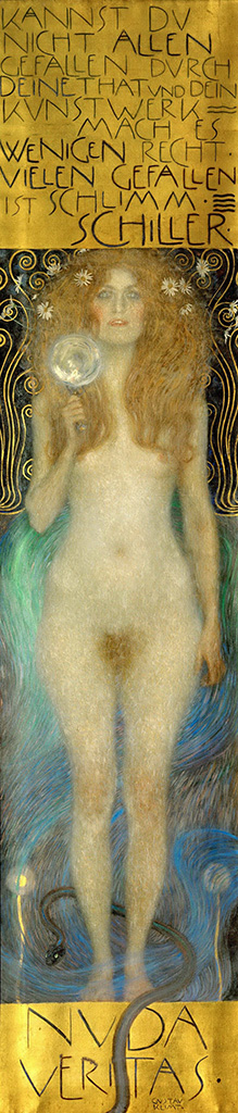 Густав Климт (Gustav Klimt), Голая правда
