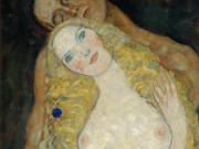 Густав Климт (Gustav Klimt), Адам и Ева