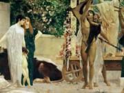 Густав Климт (Gustav Klimt), Греческий театр (фреска)