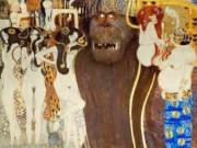 Густав Климт (Gustav Klimt), Бетховенский фриз - Враждебные силы