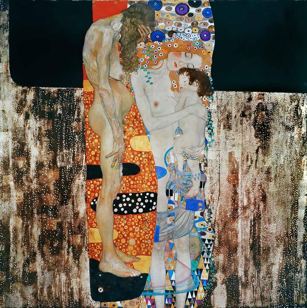 Густав Климт (Gustav Klimt), Три возраста женщины