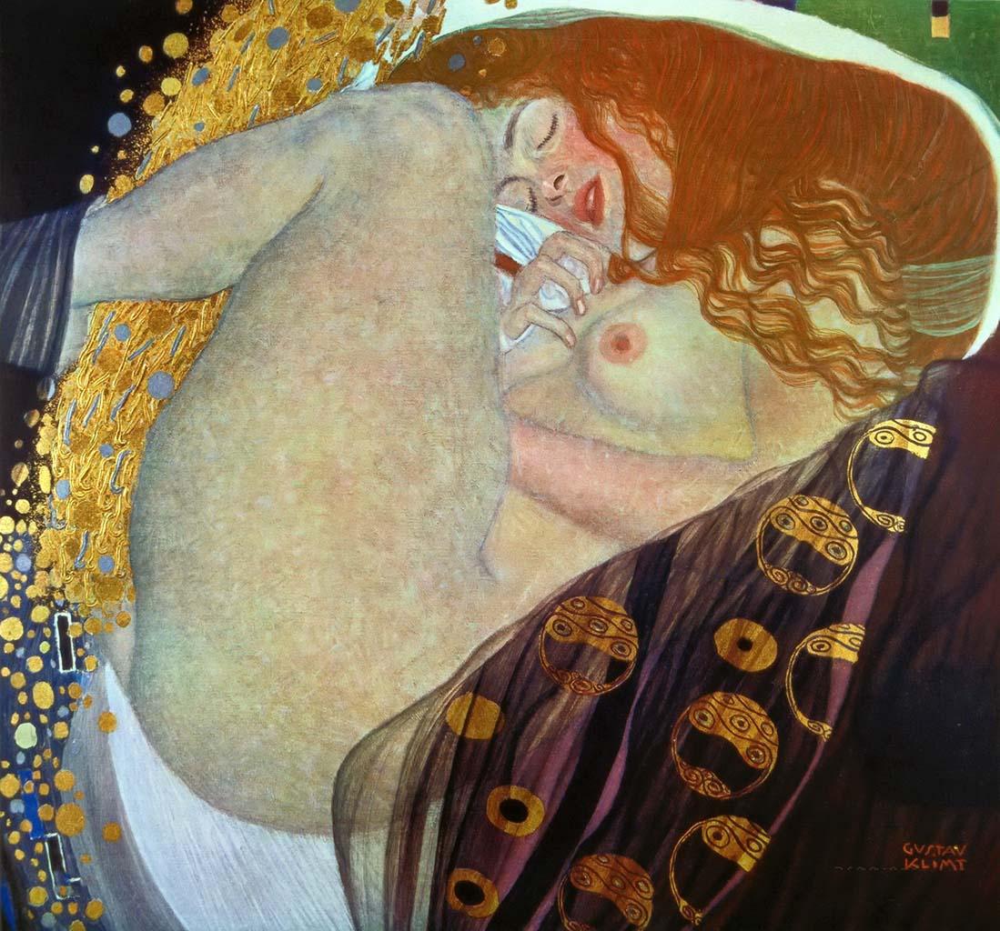 Густав Климт (Gustav Klimt), Даная