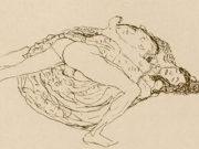 Густав Климт (Gustav Klimt) эскиз, Lovers