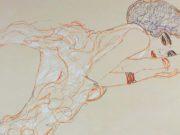 Густав Климт (Gustav Klimt), Эротический эскиз – 29