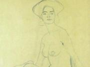Густав Климт (Gustav Klimt), Эротический эскиз – 30