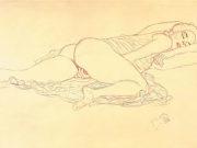 Густав Климт (Gustav Klimt), Эротический эскиз – 31