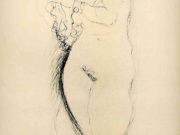 Густав Климт (Gustav Klimt), Эротический эскиз – 41
