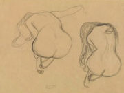 Густав Климт (Gustav Klimt), Эротический эскиз – 43