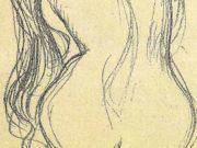 Густав Климт (Gustav Klimt), Эротический эскиз – 45