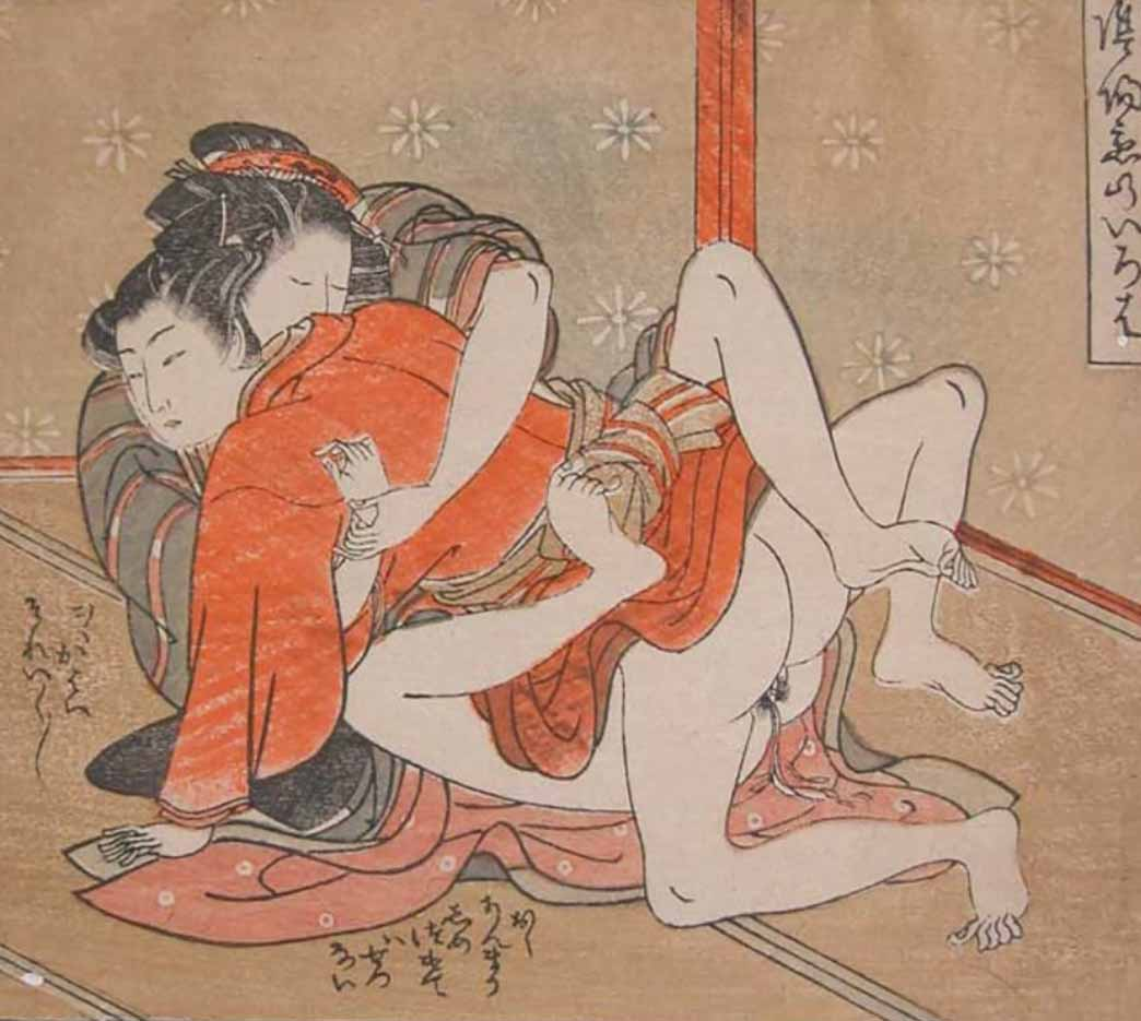 """Исода Корюсай (Isoda Koryusai) """"Hold Me Tight"""""""