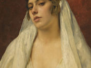 "Франц Ксавьер Кослер (Franz Xaver Kosler) ""An oriental beauty"""