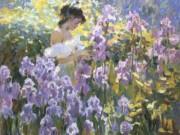 "Юрий Кротов (Yuri Krotov), ""Parmi les Iris"""