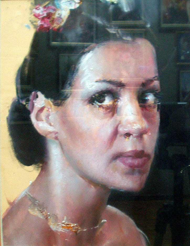 """Вадим Кучер-Куцан (Vadim Kucher-Kutsan) """"Портрет балерины   Portrait of the ballerina"""""""